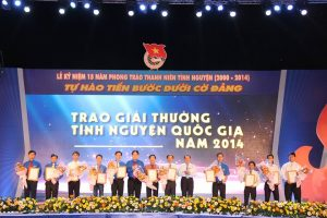Hanoi Free Tour Guides proudly received National Volunteer Award